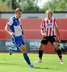 Tom Lockyer of Bristol Rovers - Mandatory by-line: Neil Brookman/JMP - 25/07/2015 - SPORT - FOOTBALL - Cheltenham Town,England - Whaddon Road - Cheltenham Town v Bristol Rovers - Pre-Season Friendly