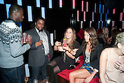 EMMANUEL BAIDOO; WAYNE GUSTAVE; ; HANNAH SCOTT-THOMAS; BREAMA YEN, The Tatler Little Black Book party. Chinawhite club. London. 21 November 2009