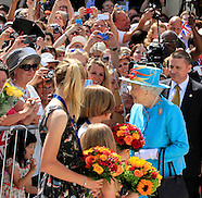The Queen attends re-opening of Reading Railway Station
