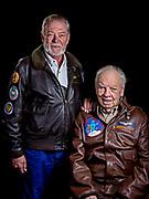 "Bob ""Punchy"" Powell and son Robert."