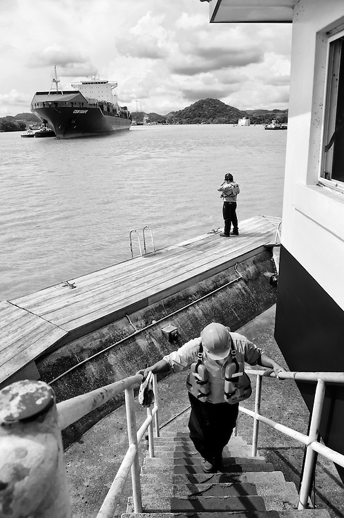 MIRAFLORES LOCKS - PANAMA CANAL<br />