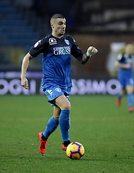 03.02.2019, Stadio Carlo Castellani, Empoli, ITA, Serie A, Empoli FC vs Chievo Verona, 22. Runde, im Bild Rade Krunic in azione // Rade Krunic in action during the Seria A 22th round match between Empoli FC and Chievo Verona at the Stadio Carlo Castellani in Empoli, Italy on 2019/02/03. EXPA Pictures &copy; 2019, PhotoCredit: EXPA/ laPresse/ Marco Bucco<br /> <br /> *****ATTENTION - for AUT, SUI, CRO, SLO only*****