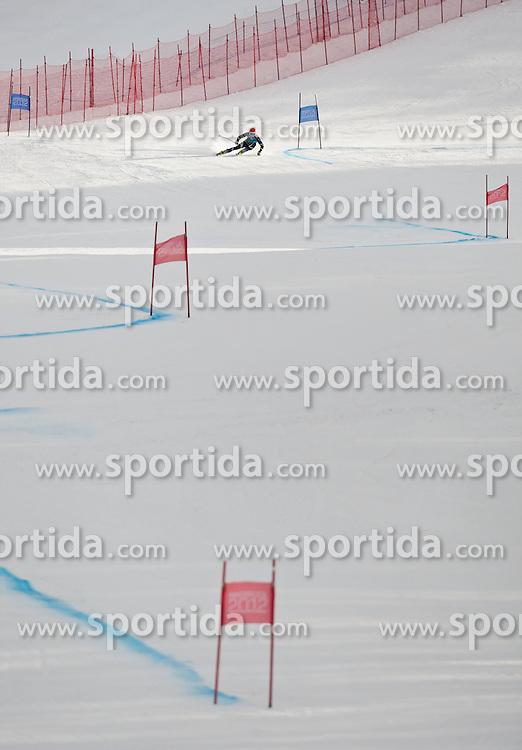 "14.01.2012, Patscherkofel, Innsbruck, AUT, Olympische Jugend Winterspiele, Ski Alpin, Super G, Herren, im Bild Marcus Monsen (NOR) // Marcus Monsen (NOR) during the Mens Super G of the Winter Youth Olympic Games at the ""Patscherkofel"", Innsbruck, Austria on 2012/01/14, EXPA Pictures © 2012, PhotoCredit: EXPA/ Juergen Feichter"