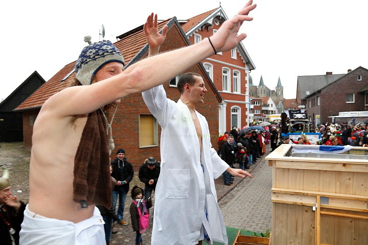 Martin Finnen Carneval in Damme: 399. Session