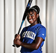 Water Valley softball player Ashley Phillips, the Oxford Eagle's player of the year for 2009.