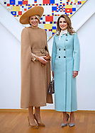 20.03.2018; The Hague, Netherlands: QUEEN RANIA AND QUEEN MAXIMA<br /> turn on the style.<br /> King Abdullah II and Queen Rania Al Abdullah of Jordan are on an official visit to the Netherlands<br /> Mandatory Photo Credit: NEWSPIX INTERNATIONAL<br /> <br /> IMMEDIATE CONFIRMATION OF USAGE REQUIRED:<br /> Newspix International, 31 Chinnery Hill, Bishop's Stortford, ENGLAND CM23 3PS<br /> Tel:+441279 324672  ; Fax: +441279656877<br /> Mobile:  0777568 1153<br /> e-mail: info@newspixinternational.co.uk<br /> &ldquo;All Fees Payable To Newspix International&rdquo;