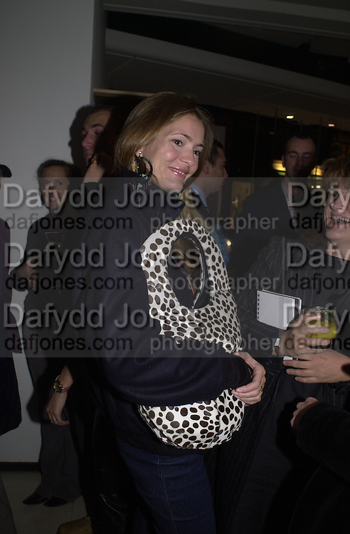 Plum Sykes. Joseph Ettedgui, Isabella Blow and Michael Roberts host a private viewing of Alexandre Herchcovitch. Joseph, Fulham Rd. London. 27 September 2000. © Copyright Photograph by Dafydd Jones 66 Stockwell Park Rd. London SW9 0DA Tel 020 7733 0108 www.dafjones.com
