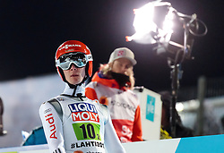 04.03.2017, Lahti, FIN, FIS Weltmeisterschaften Ski Nordisch, Lahti 2017, Skisprung Herren, Team, im Bild Stephan Leyhe (GER) // Stephan Leyhe of Germany // during Mens Team Skijumping of FIS Nordic Ski World Championships 2017. Lahti, Finland on 2017/03/04. EXPA Pictures © 2017, PhotoCredit: EXPA/ JFK