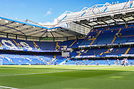General view of Stamford Bridge, home of Chelsea Football Club, before the Barclays Premier League match at Stamford Bridge, London<br /> Picture by David Horn/Focus Images Ltd +44 7545 970036<br /> 22/02/2014