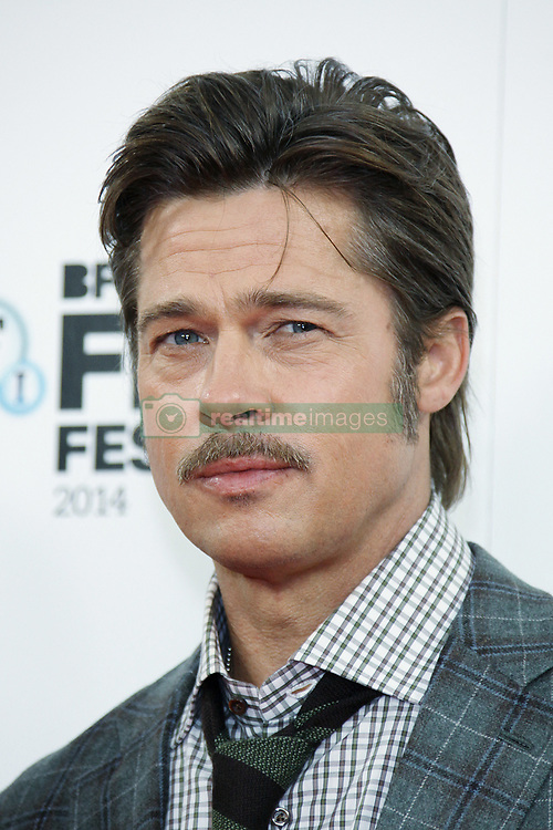Brad Pitt attends the photocall for 'Fury' during the 58th BFI London Film Festival at The Corinthia Hotel in London, UK on October 19, 2014. Photo by Bakounine/ABACAPRESS.COM  Festival du Film de Londres London Film Festival BFI London Film Festival London Film Festival BFI London Film Festival Pitt Brad Moustache Mustache Presentation de film Presentation de serie Movie Screening<br /> Photocall<br /> Photo call Seule Seul Seuls Seules Alone Headshot Portraits Portrait Headshots Head Shot Head Shots Fury  | 471687_005 Londres London Royaume Uni United Kingdom