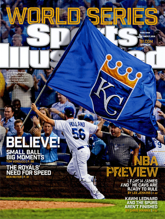 Kansas City Royals World Series Cover Photo.