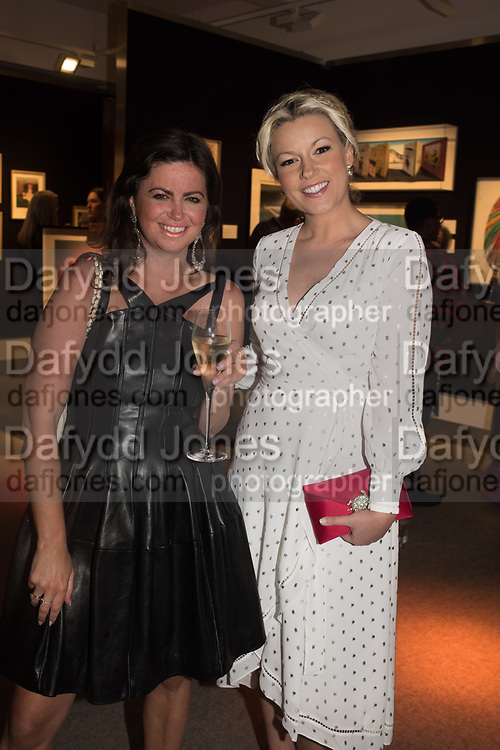 DEBORAH JAMES, NATHALIE RUSHDIE, `preview evening  in support of The Eve Appeal, a charity dedicated to protecting women from gynaecological cancers. Bonhams Knightsbridge, Montpelier St. London. 29 April 2019