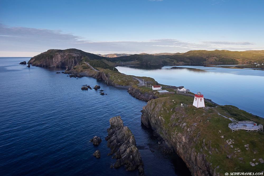 Fort Point Lighthouse,Trinity, Newfoundland, Canada