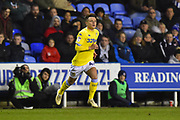 Jamie Shackleton (46) of Leeds United during the EFL Sky Bet Championship match between Reading and Leeds United at the Madejski Stadium, Reading, England on 12 March 2019.