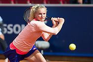 Katerina Siniakova (Czech Republic) at the 2017 WTA Ericsson Open in Båstad, Sweden, July 28, 2017. Photo Credit: Katja Boll/EVENTMEDIA.