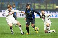 """Fredy Guarin Inter.Milano 27/01/2013 Stadio """"S.Siro"""".Football Calcio Serie A 2012/13.Inter vs Torino.Foto Insidefoto Paolo Nucci."""
