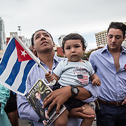 USA, Cuban Americans in Miami