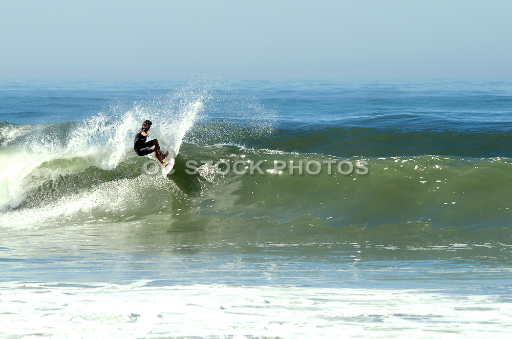 Surfing Waves in Orange County