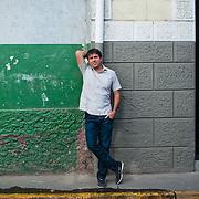 PORTRAITS KEYES CHRISTOPHER HARDIN.Casco Viejo, Panama City - Panama 21-03-2012.<br /> (Copyright © Aaron Sosa)