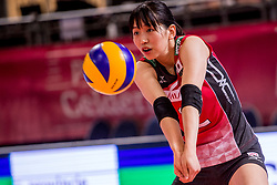 07-07-2017 NED: World Grand Prix Japan - Thailand, Apeldoorn<br /> Second match of first weekend of group C during the World Grand Prix / Sarina Koga #2 of Japan