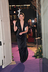 NATALIA VODIANOVA at The Surrealist Ball in aid of the NSPCC in association with Harpers Bazaar magazine held at the Banqueting House, Whitehall, London on 17th March 2011.