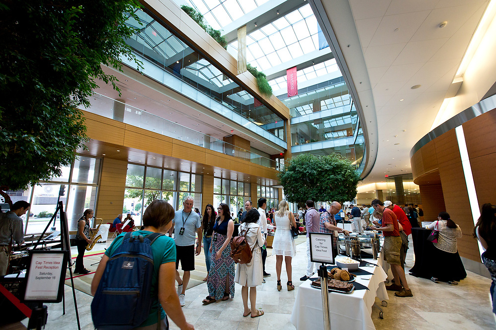 The Cap Times 2017 Idea Fest in the Discovery Center, Saturday, September 16, 2017