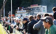FODBOLD: Tilskuere under kampen i ALKA Superligaen mellem FC Helsingør og FC København den 17. september 2017 på Helsingør Stadion. Foto: Claus Birch
