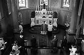 1964 - Fr Donal Sullivan, first Mass at St. Joseph's Vincentian Novitiate