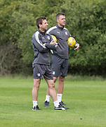 Dundee manager Neil McCann and assistant manager Graham Gartland - Dundee FC pre-season training at Michelin Grounds, Dundee, Photo: David Young<br /> <br />  - &copy; David Young - www.davidyoungphoto.co.uk - email: davidyoungphoto@gmail.com
