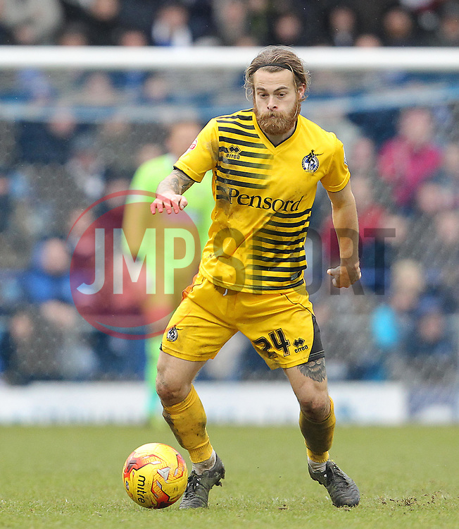 Stuart Sinclair of Bristol Rovers - Mandatory byline: Paul Terry/JMP - 13/02/2016 - FOOTBALL - Fratton Park - Portsmouth, England - Portsmouth v Bristol Rovers - Sky Bet League Two