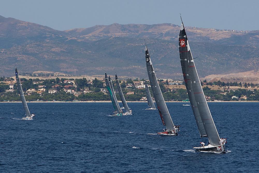 ITALY, Sardinia, Cagliari, AUDI MedCup, 23rd July 2009,  Autonomous Region of Sardinia Trophy, Coastal Race.