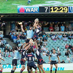 during the super rugby match between Waratahs and the Rebels Allianz Stadium 21 May 2017(Photo by Mario Facchini -Steve Haag Sports)