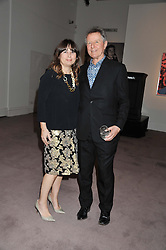 ALEXANDRA SHULMAN and DAVID JENKINS at a party to celebrate the publication of Can We Still Be Friends by Alexandra Shulman held at Sotheby's, 34-35 New Bond street, London on 28th March 2012.