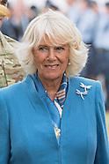 Camiila & Prince Charles Visit Sandringham Flower Show