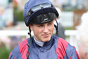 Jockey George Wood during the John Smiths Cup Meeting at York Racecourse, York, United Kingdom on 12 July 2019.