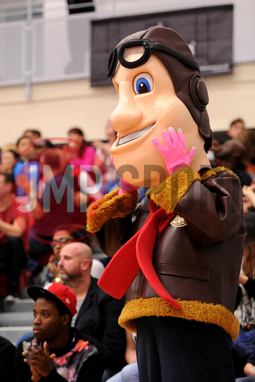 Bristol Flyers' mascot - Photo mandatory by-line: Paul Knight/JMP - Mobile: 07966 386802 - 10/10/2015 - BASKETBALL - SGS Wise Arena - Bristol, England - Bristol Flyers v Newcastle Eagles - British Basketball League