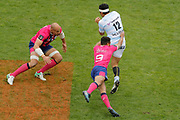 Casey LAULALA (Racing Metro 92), Will Genia (Stade Francais), Sergio Parisse (Stade Francais) during the French Championship Top 14 Rugby Union match between Stade Francais Paris and Racing Metro 92 on April 30, 2017 at Jean Bouin stadium in Paris, France - Photo Stephane Allaman / ProSportsImages / DPPI