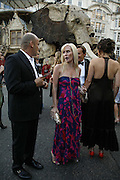 Guy Dellal and Normandie Keith, Ark Gala Dinner, Marlborough House, London. 5 May 2006. ONE TIME USE ONLY - DO NOT ARCHIVE  © Copyright Photograph by Dafydd Jones 66 Stockwell Park Rd. London SW9 0DA Tel 020 7733 0108 www.dafjones.com