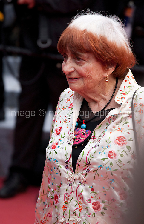 Agnes Varda at the gala screening for the film The BFG at the 69th Cannes Film Festival, Saturday 14th May 2016, Cannes, France. Photography: Doreen Kennedy