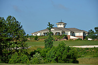 The Carol Johnson Poole Clubhouse at Lonnie Poole Golf Course.