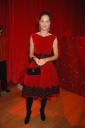 TRINNY WOODALL at a dinner held at the Natural History Museum to celebrate the re-opening of their store at 175-177 New Bond Street, London on 17th October 2007.<br /><br />NON EXCLUSIVE - WORLD RIGHTS