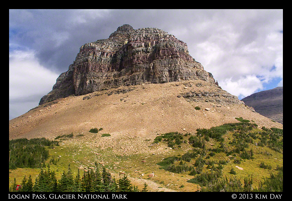 Logan Pass, Glacier National Park<br /> Montana<br /> September 2013