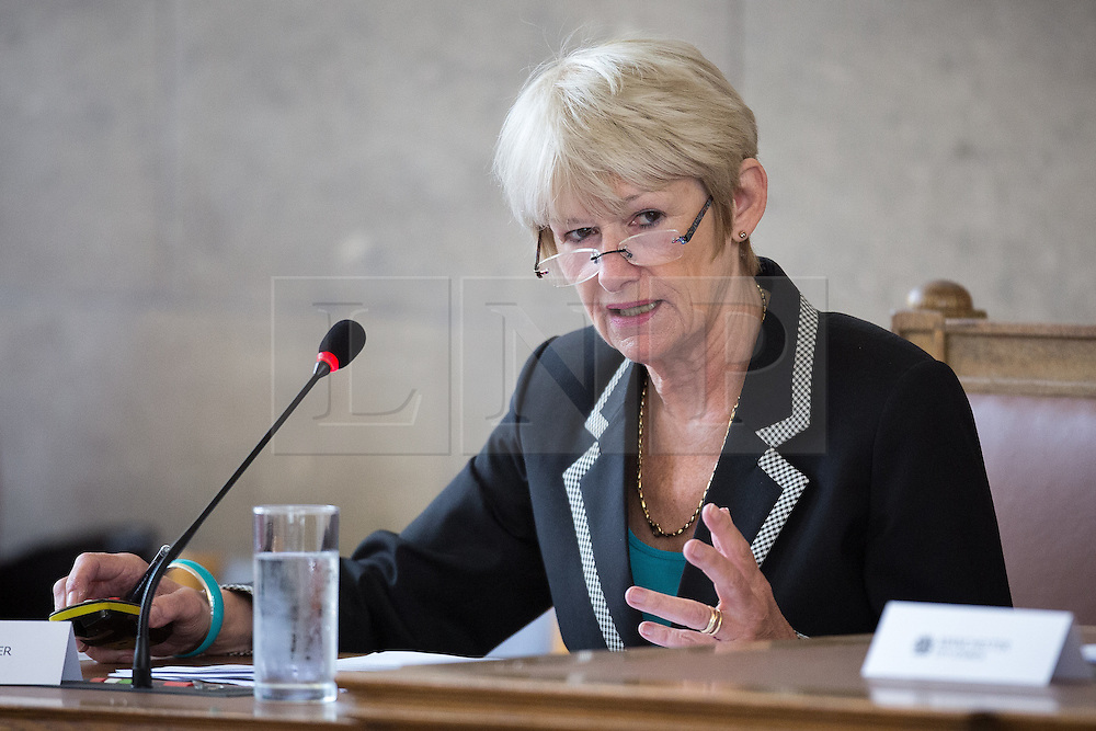 © Licensed to London News Pictures . 13/07/2016. Manchester , UK . DAME NANCY ROTHWELL . Proceedings at a Manchester City Council meeting , at the Town Hall in Manchester . Photo credit: Joel Goodman/LNP