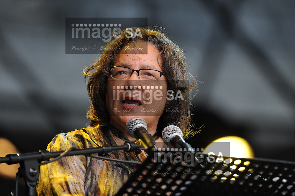"The Executive Mayor of the City of Cape Town, PATRICIA DE LILLE during the City of Cape Town hosted concert at the 45000 seater Cape Town Stadium called ""Nelson Mandela - A life Celebrated"". Nelson Mandela was the first democratically elected president of South Africa."