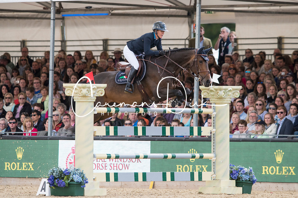 Hough Lauren, USA, Adare<br /> Rolex Grand Prix Jumping<br /> Royal Windsor Horse Show<br /> &copy; Hippo Foto - Jon Stroud