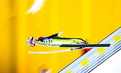 12.01.2018, Kulm, Bad Mitterndorf, AUT, FIS Skiflug Weltcup, Training, im Bild Stefan Kraft (AUT) // Stefan Kraft of Austria during his Practice Jump of FIS Ski Flying World Cup at the Kulm, Bad Mitterndorf, Austria on 2018/01/12, EXPA Pictures © 2018, PhotoCredit: EXPA/ Dominik Angerer