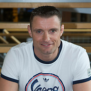 NLD/Hilversum//20140317 - Perspresentatie deelnemers Expeditie Poolcirkel 2014, judoka Mark Huizinga