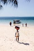 The beach at Vilanculos for Bazaruto Island