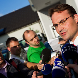 20120605: SLO, Alpine Ski - Resignation of Tomaz Lovse, president of Ski Association of Slovenia