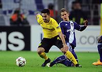 v.l. Ilkay Guendogan, Dennis Praet (Anderlecht)<br /> Fussball Champions League, Gruppenphase, Borussia Dortmund - RSC Anderlecht<br /> Norway only
